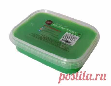 """Мыльная основа """"Activ Color"""", 200 грамм, цвет травяной"""