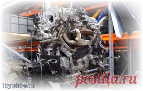 Неисправности дизельного двигателя 1AD-FTV - D-4D