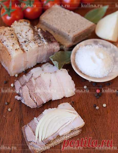 Сало в духовке – рецепт приготовления с фото от Kulina.Ru