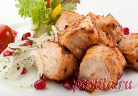 Шашлык из куриной грудки / Простые рецепты