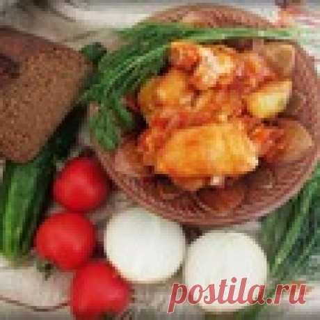 Рыба по-казачьи Кулинарный рецепт
