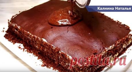 Домашний торт, который не нуждается в пропитке | Готовим с Калниной Натальей | Яндекс Дзен