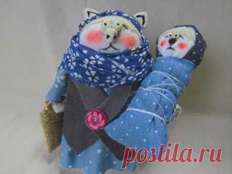 КИСА АНФИСА - Кукла  Мастер класс Doll cat Master class DIY