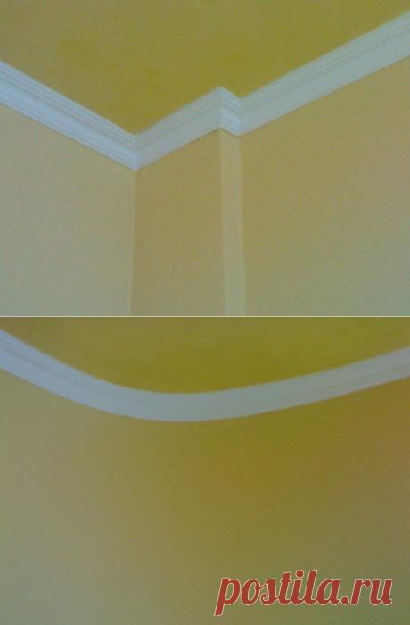 Наклейка интерьерного багета — Роскошь и уют