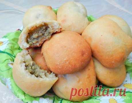 Постные пирожки с чечевицей и картофелем, пошаговый рецепт, фото, ингредиенты - AlenaZaytseva