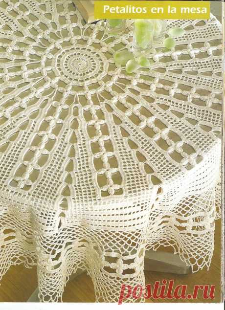 Скатерть для овального стола своими руками фото 339