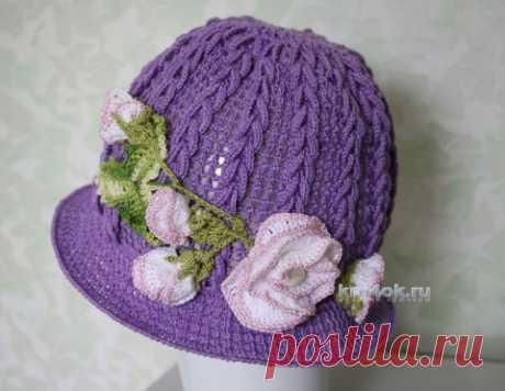 Мастер – класс по вязанию панамы для девочки - вязание крючком на kru4ok.ru