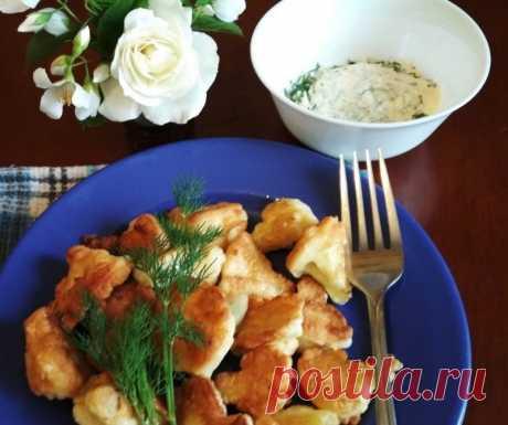 Цветная капуста в кляре — Sloosh – кулинарные рецепты