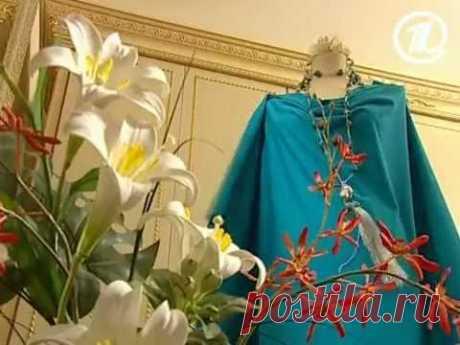 061 - Ольга Никишичева. Платье к женскому дню за 5 минут
