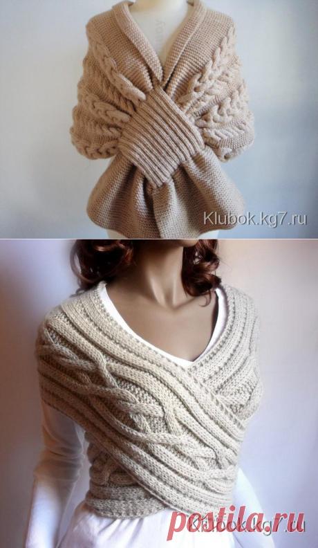 Шарф, шарф-снуд, шарф-трансформер | Клубок