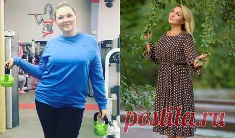 Надежда Ангарская похудела на 35 кг за 7 месяцев | SimpleSlim