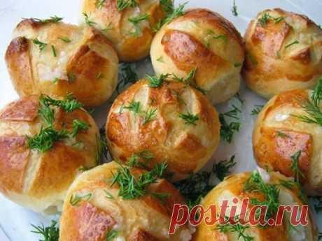 (91) Кулинарные рецепты для подруги - Нежнейшие пампушки к борщу