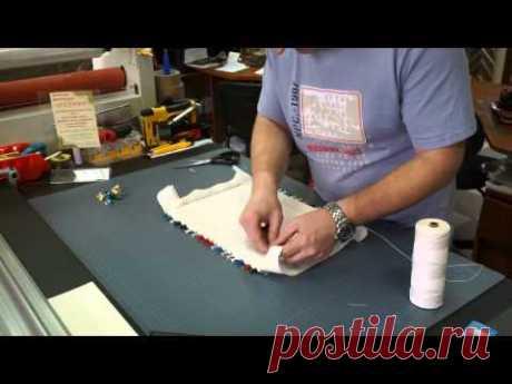Правильная натяжка вышивки