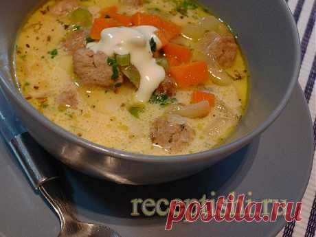 Чизбургер-суп | Кулинарные рецепты с фото на Рецептыши.ру