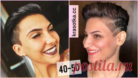 Стрижка кроп для женщин 40-50 лет: 10 эффектных идей, которые помогут освежить образ - Красотка - медиаплатформа МирТесен