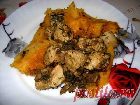 Мясо, запеченное в тыкве, Велесова ночь - Горячие блюда от 1001 ЕДА