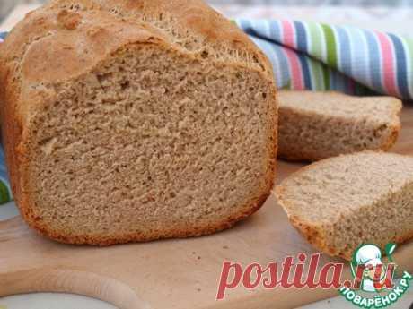 Ржаной хлеб на тёмном пиве в хлебопечке – кулинарный рецепт
