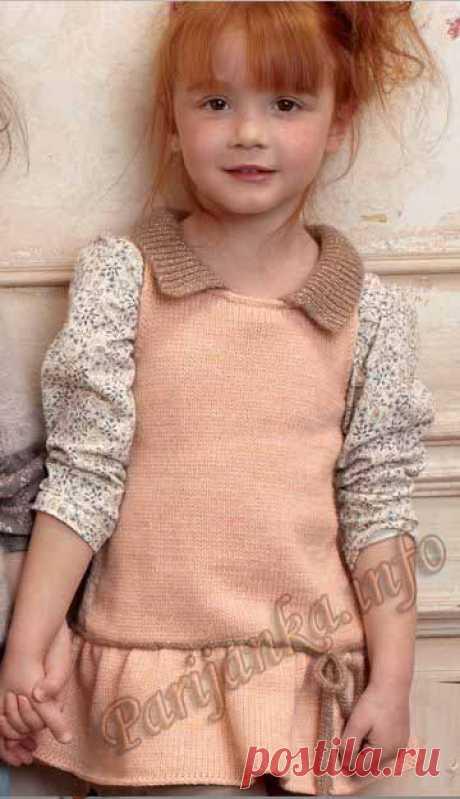 Платье без рукавов (д) 10*76 Phildar №3148