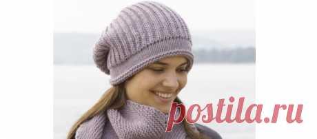 Шапка бини английской резинкой спицами - 5 моделей Подробный разбор 5 моделей женских шапок бини английской резинкой на спицах. Описание со схемами и видео бесплатно. Смотрите!