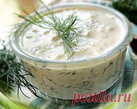 Огуречный соус вместо майонеза!Изумительно вкусный и простой в...