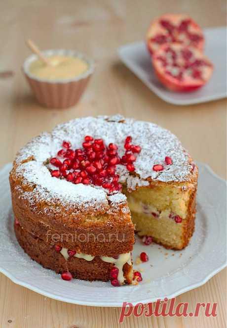 Рецепт итальянского торта капрезе с заварным кремом | FEMIANA