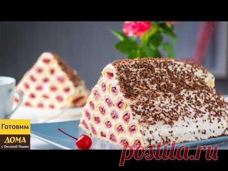 Торт Монастырская Изба из блинов видео рецепт