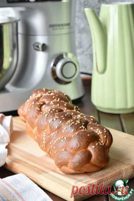 Праздничный еврейский хлеб – кулинарный рецепт