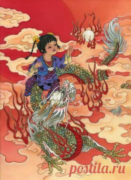 Китайский дракон - значение символа, виды, легенды