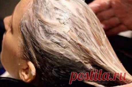 MASK FOR HAIR FROM LOSS AND THE GRAY HAIR!