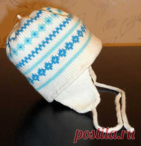 We knit a children's hat by knitting car - Machine knitting - the Website of keen people. RastiTrava.ru - the Website of keen people.