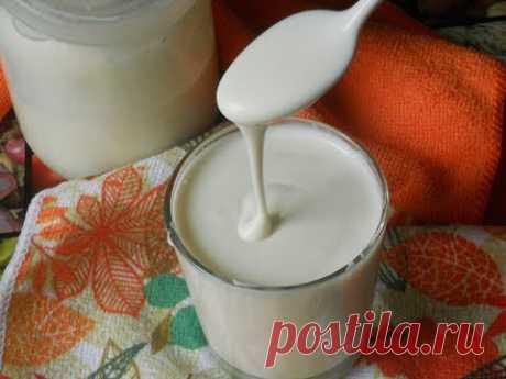 ✅Как сделать сметану? Сметана из молока в домашних условиях. Очень простой рецепт!