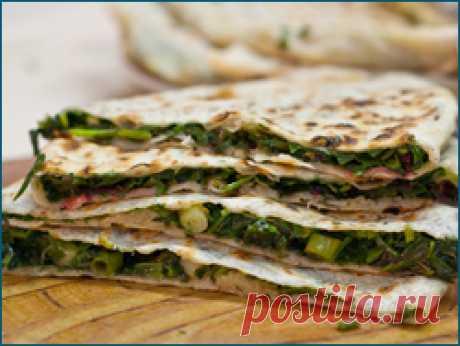 Жареные пирожки с зеленью по-Армянски   Кавказская кухня