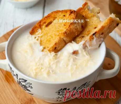 СУП-ПЮРЕ из ЦВЕТНОЙ КАПУСТЫ с сыром - Вкусные рецепты - медиаплатформа МирТесен