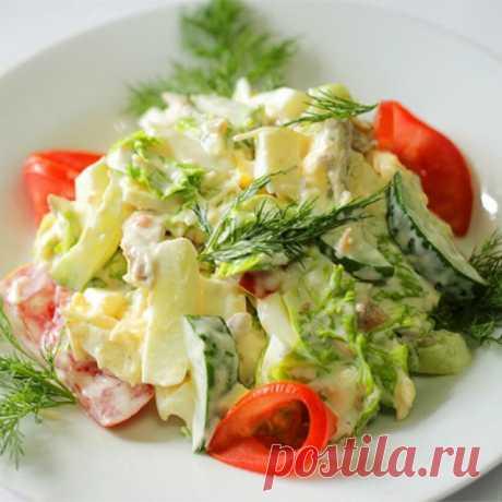 Салат со шпинатом - простые ивкусные рецепты с фото - Домашняя кулинария