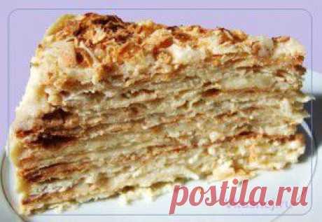 торт «Наполеон»   Рецепты вкусно