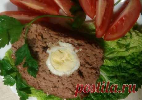 (5) Мясной рулет с яйцом - пошаговый рецепт с фото. Автор рецепта Дина Ухина . - Cookpad