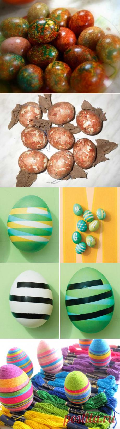 14 способов легко и оригинально оформить пасхальные яйца
