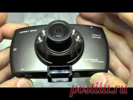 """Посылка №257 Автомобильный видео-регистратор G30 2.7 """" 1080 P Full HD"""
