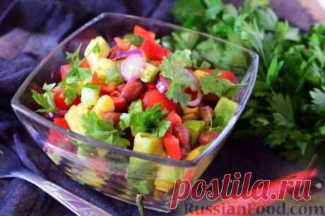 Recipe: The Mexican vegetable salad on RussianFood.com