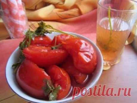 Невероятно вкусные помидоры дольками на зиму: а рассол, вообще, как нектар!