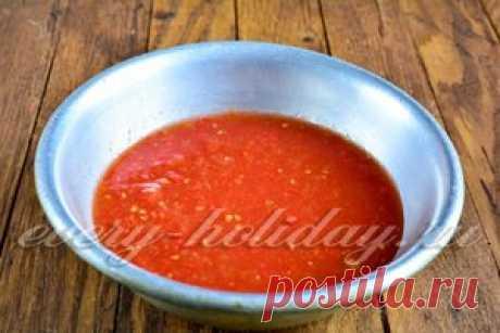 Аджика «Дамская» с помидорами и сливами - для себя любимой, а также для своих любимых подруг