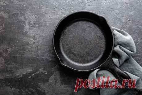 Как легко очистить сковороду от нагара, чтобы она сверкала!