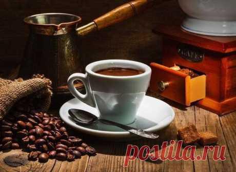 Как правильно варить кофе в турке, чтобы кофе не сбежало.