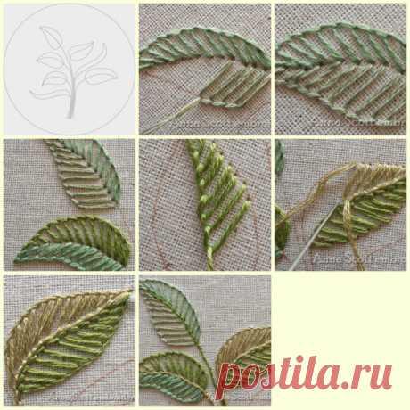 (11) Gallery.ru / Фото #7 - Уроки в картинках: листья, стебли - Lunga68