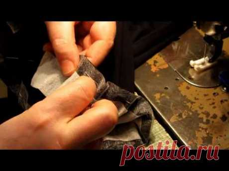 Tailoring not of difficult, women's trousers. Part 4
