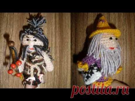 Вязаные лялюшки  Мои текущие процессы - YouTube