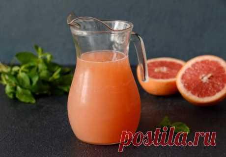 Лимонад из грейпфрута — Sloosh – кулинарные рецепты