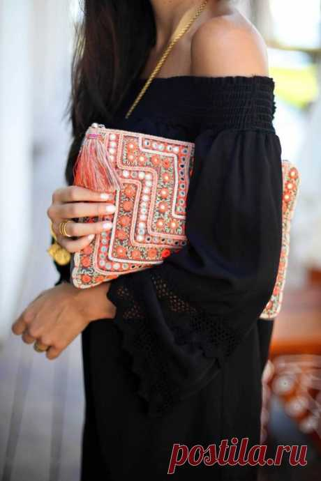 Клaтч в этно-стиле — Красота и мода