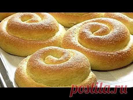 НОЧНОЕ - ДРОЖЖЕВОЕ ТЕСТО. Сахарные булочки.Рецепты от Галины/Night yeast dough.