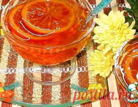 Апельсиновое варенье – кулинарный рецепт
